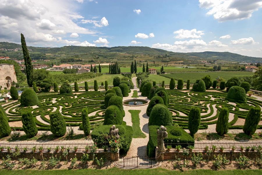 Il giardino all 39 italiana villa arvedi - Giardino all italiana ...